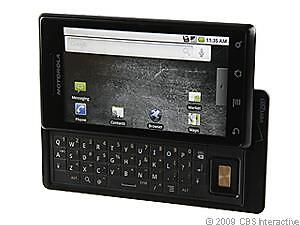 Motorola Droid 1 - Black (Verizon) Smart...