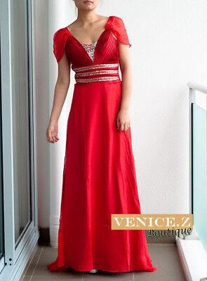 Venicez Designer Formal Dress Evening Gown Race F1 6-12