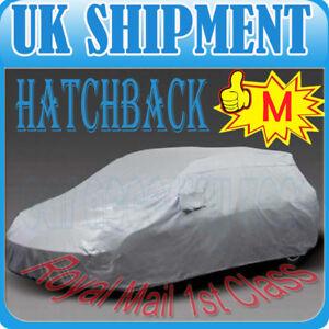 M-SIZE-PROTECTIVE-ANTI-UV-HATCHBACK-FULL-CAR-COVER-UK