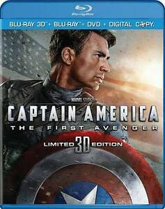 Captain-America-The-First-Avenger-Blu-ray-DVD-2011-3-Disc-Set-Includes-Digital-Copy-3D-2D-Blu-ray