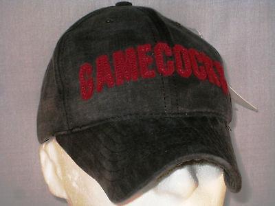 South Carolina Gamecocks - Football Hat - Black Mcd