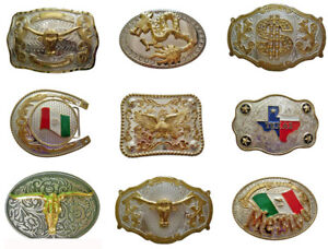 New-Fashion-Belt-Buckles-Western-Rodeo-Style-Cowboy