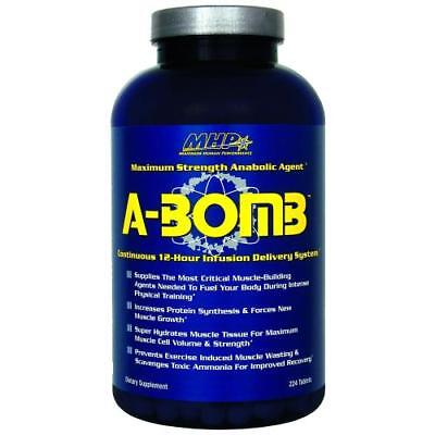 Mhp A-bomb Maximum Strength Anabolic Agent 224 Capsules on Sale