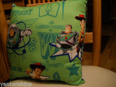 Toy Story Buzz Lightyear Woody 12 Square Pillow