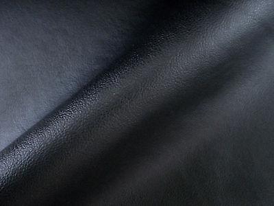 Tissu Skaï Noir Faux / Simili Cuir En 140 Cm De Large / Prix Au Metre