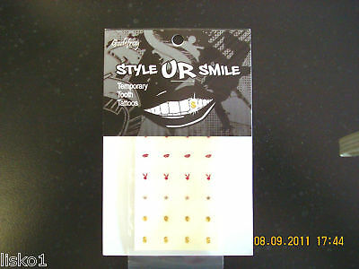 Godefroy Style Ur Smile Temporary Tooth Tattoos Grille Jewelery Stickers Teeth