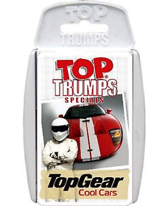 *NEW* Top Gear Top Trumps COOL CARS Card Game - The Stig