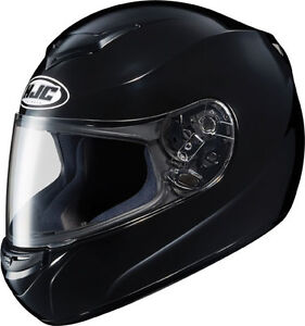 HJC CS-R2 Motorcycle Helmet Black L Lg Lrg Large Full Face New