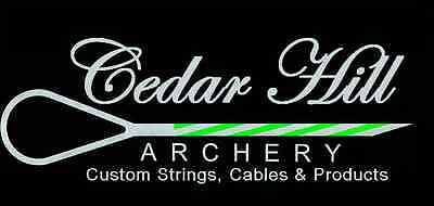 Custom Archery Bow String Longbow, Recurve, Oneida Bowfishing Double Served Loop