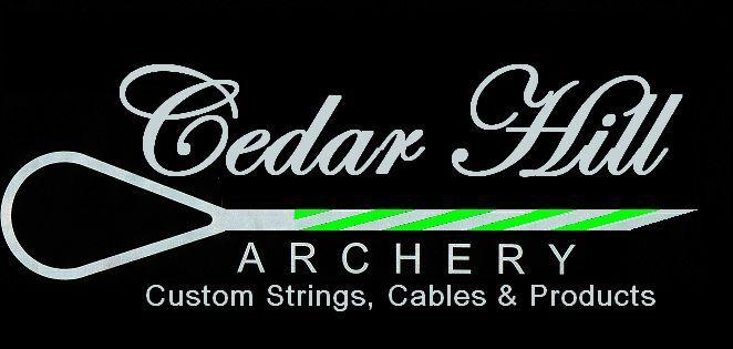Bow String 50 1/8 & (2) Cables 32 Set Diamond Razor Edge Red/ Black Special