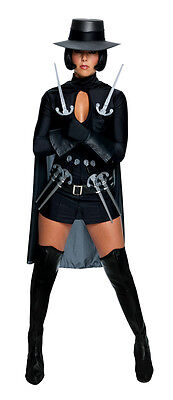 V FOR VENDETTA dress cape gloves black womens sexy costume halloween - V For Vendetta Gloves