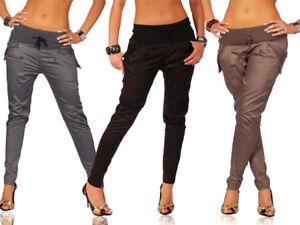 GIAPPONE-stile-Pantaloni-SEXY-amp-Trendy-moda-Harem-Taglie-8-16-UK-1021