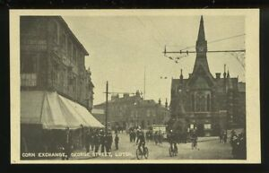 Beds-LUTON-George-St-Corn-Exchange-1927-PPC