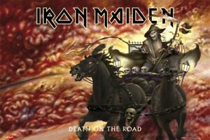 IRON-MAIDEN-POSTER-Death-On-The-Road-eddie-horse-NEW