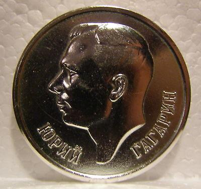 Yuri Gagarin 1st Man in Space Star City Medal coin