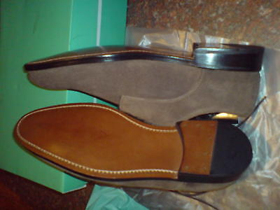 Clarks Mens Hand Crafted Dixon Formal Shoe Suede Uk 8.5 / True 9
