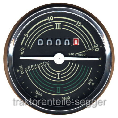 Traktormeter John Deere LANZ 100 200 300 500 700 / 259 Foto 1