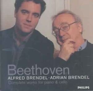Brendel - Beethoven: Cello & And Piano (NEW CD )
