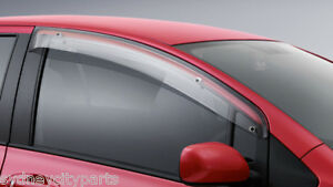 TOYOTA-YARIS-WEATHERSHIELD-DRIVERS-SIDE-SEDAN-JAN-06-AUG-11-GENUINE-ACCESSORY