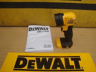 BRAND NEW DEWALT DCL040 XR 18V LED SWIVEL WORKLIGHT TORCH