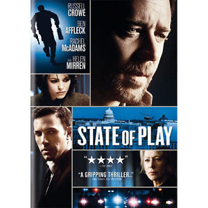 State Of Play DVD, 2009  - $0.99