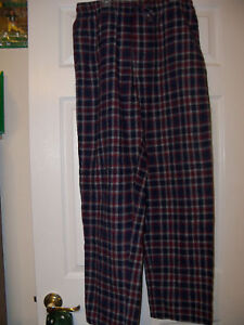 Croft-Barrow-Red-Blue-Sleep-Lounge-Pajama-PJ-Pants-Mens-Size-Medium-NWT-74