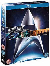 Star Trek Trilogy *Blu-ray* NEW and SEALED