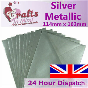 C5 / A5 Envelopes for Greeting Cards 162 x 229mm | 100gsm Quality | ALL COLOURS