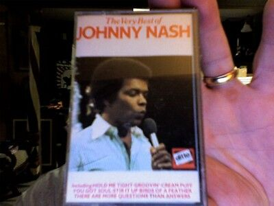Johnny Nash- The Very Best of- new/sealed cassette tape
