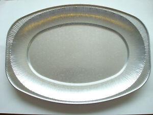 100 X 14 Quot Silver Foil Platters Sandwich Trays Catering
