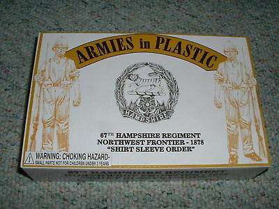 Armies In Plastic 1/32 54mm Box 5572 Northwest Frontier 67th Hampshire 1878