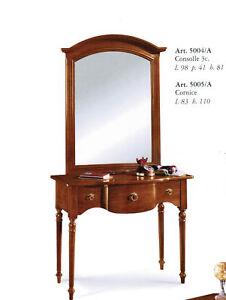 Consolle con specchio arte povera ingresso soggiorno ebay - Consolle con specchio per ingresso ...