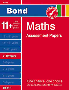 Bond-Maths-Assessment-Papers-9-10-years-Book-1-Baines-Andrew-Paperback-Book