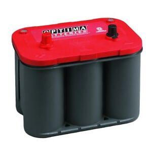 optima redtop batterie rt c 4 2 12v 50 ah ebay. Black Bedroom Furniture Sets. Home Design Ideas