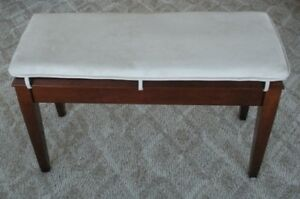 Custom Made Suede Piano Bench Cushion Choose Color | eBay