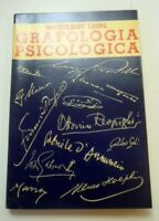 Psicologia Hoepli Grafologia Spicologica 1^ed. 1935 -  - ebay.it