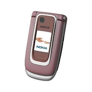 Nokia 6131 - Pink Mobile Phone