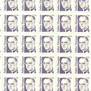 2171b-Father-Flanagan-full-mint-sheet-of-100-untagged