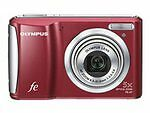 Olympus FE-47 14.0 MP Digital Camera - Red