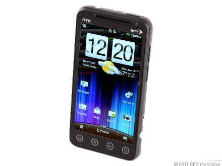 HTC  EVO 3D - 1 GB - Black - Smartphone