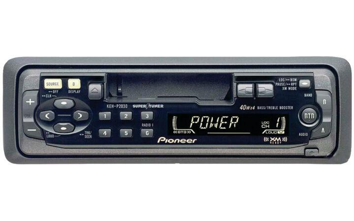 Pioneer KEH-P2030 Cassette Receiver