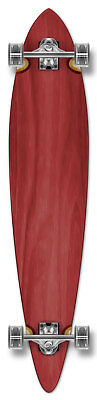 RED Complete Longboard PINTAIL Skateboard 71mmWheel