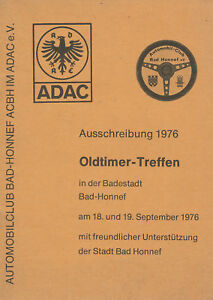 Oldtimer-Treffen-Bad-Honnef-ADAC-Ausschreibung-1976