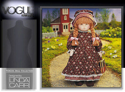 Vogue 8336 Sarah 18-inch (46cm) Doll Pattern