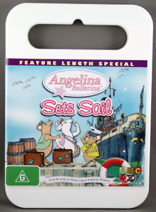 ANGELINA BALLERINA SETS SAIL (NEW DVD) FREE POST REG 4