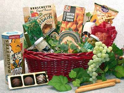 Fancy Foods Gourmet Gift Basket