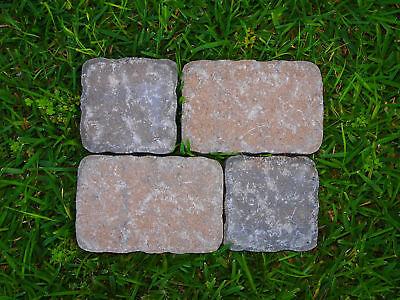 4 Paver Stone Patio Plastic Molds Concrete/plaster