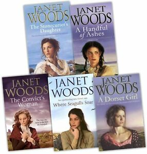 Janet-Woods-Collection-5-Books-Set-Pack-New-RRP-34-95