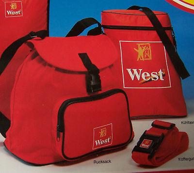 West Test it. Reiseset Rucksack, Kühltasche, Koffergurt