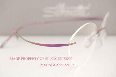 Silhouette Eyeglasses Frames Must 7799 6057 Mauve